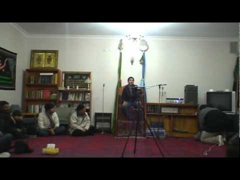 Ali Shanawar Live - Wafa Jiska Parhe Kalma Ussey Abbas Kehtey Hain