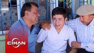 Şehit Polisin Babası Küçük Oğluna Sarılarak Ağladı