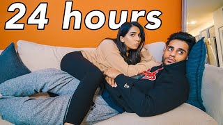 IGNORING MY GIRLFRIEND FOR 24 HOURS!