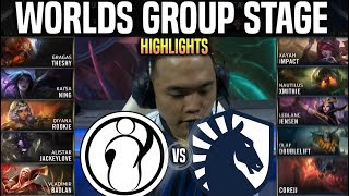 IG vs TL Highlights Worlds 2019 Group Stage Day 8 - Invictus Gaming vs Team Liquid Highlights Worlds