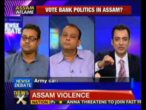 NewsX@9- Assam violence: Demand for President's Rule rises