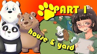 We Bare Bears | Match3 Repairs | (#1) |  Fix and Decorate the House | Decorate the Yard