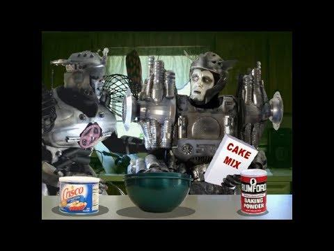 Killer Robots Band Cartoon Killer Robots vs