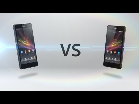 Xperia ZR Vs. Xperia Z