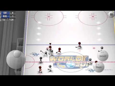 Stickman Ice Hockey -  Russia 2 /  Switzerland 0
