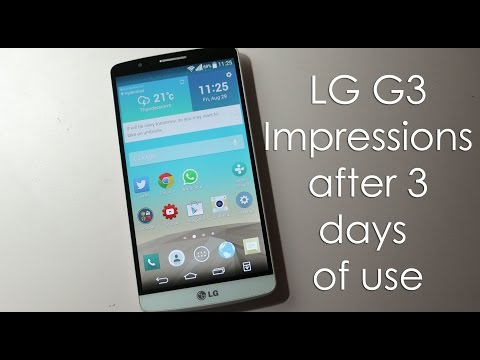 LG G3 Impressions after using it for 3 days (3GB RAM Variant)