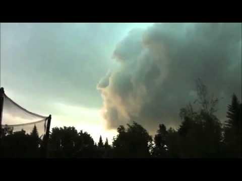 Una tormenta con rostro humano - trending videos en www.toppli.com