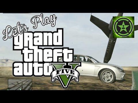 Let's Play - GTA V - Free Play Sky High Part 2