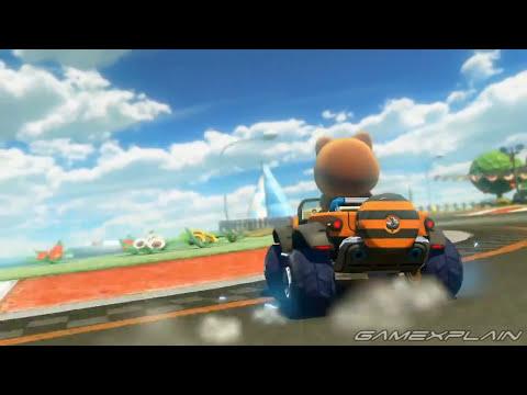 Mario Kart 8: Yoshi Circuit DLC Trailer (Double Dash Retro Track!)