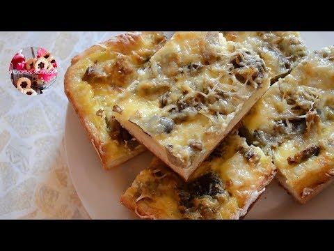 Пирог с Грибами и Картошкой Очень Вкусный