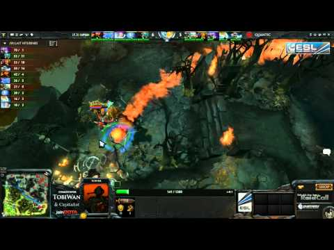 Quantic Gaming vs Flipsid3 Game 3   RaidCall EMS One DOTA 2   TobiWan