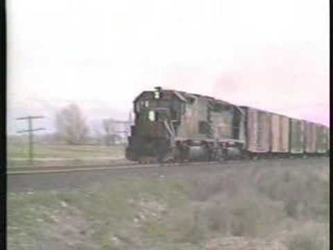 Fallen Flags:  2 D&RGW Freights in Colorado