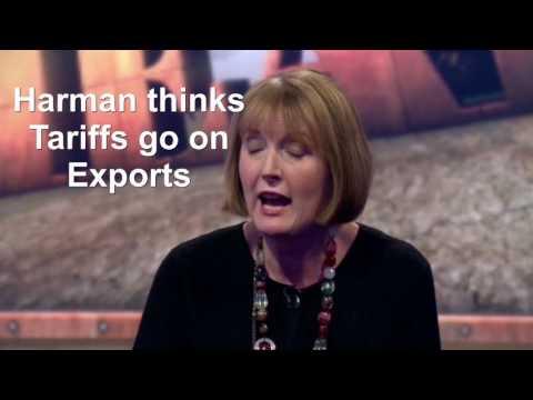 Harriet Harman Export Tariff Fail - Sunday Politics