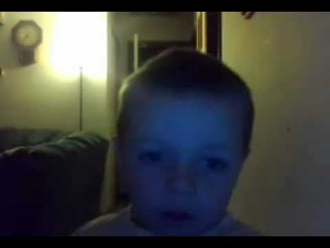 My 4 Years Old Singing Creepin By Eric Church video