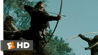 Robin Hood (9/10) Movie CLIP - Village Rescue (2010) HD