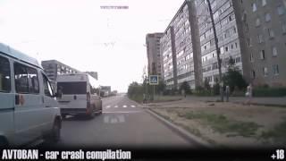 Опасные Идиоты На Дороге 2015 Аварии и ДТП HD (62 выпуск) AVTOBAN