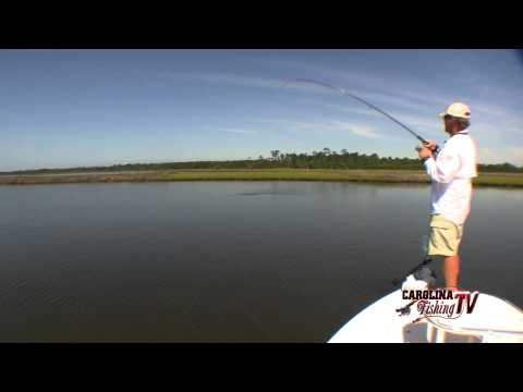 Carolina Fishing TV - Season2/12 - Topsail Island Redfish