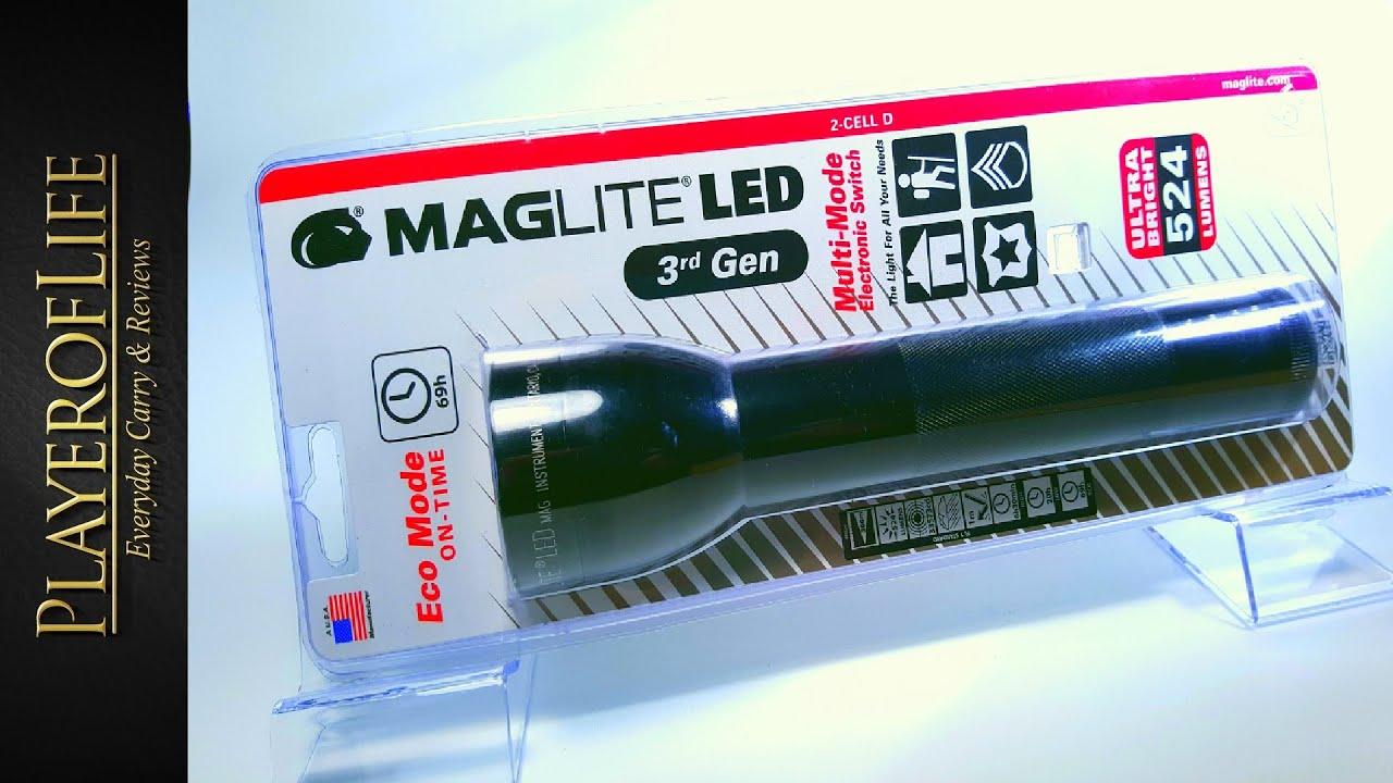 Фонарь maglite 2-cell d flashlight blue