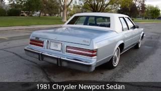 1981 Chrysler Newport Sedan - Ross's Valley Auto Sales - Boise, Idaho
