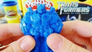 Play-Doh Transformers Dark of the Moon Unboxing
