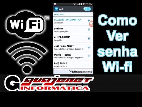 Como ver senha wi fi pelo celular - Já estando conectado na rede