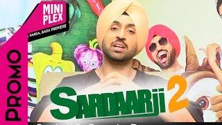 Diljit Dosanjh Promotes 'Sardarji 2' on Miniplex - Latest Punjabi Movie