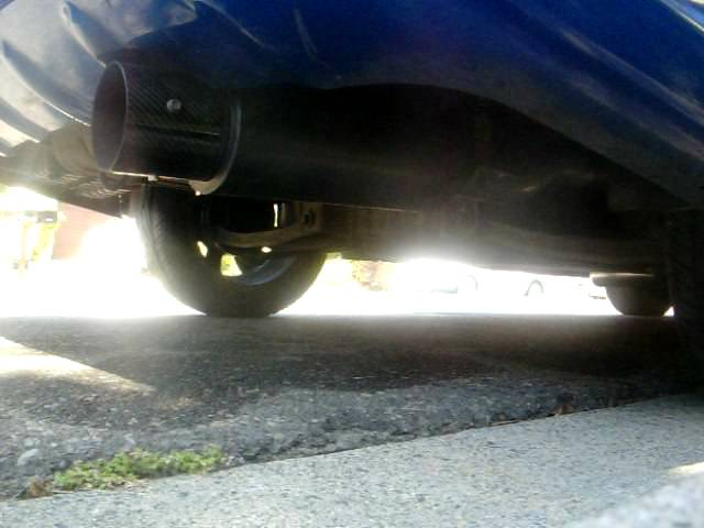 2002 Hyundai Accent 2.5inch Header back exhaust