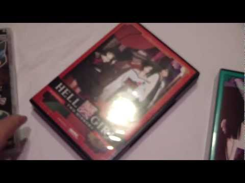 Hell Girl Complete Series Seasons 1 2 & 3 Dvd Collection Unboxing video
