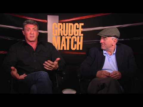 Grudge Match: Robert De Niro & Sylvester Stallone Official Movie Interview
