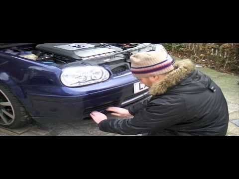 vw golf front bumper removal guide mk4