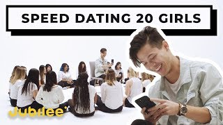 20 vs 1: Speed Dating 20 Girls - Jon | Jubilee x Solfa