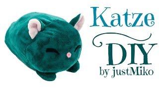 Plüsch Katze nähen 🐱 *Do it Yourself* | kawaii | Verlosung