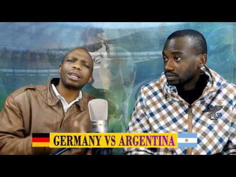 GERMANY VS ARGENTINA WORLD CUP 2014 FINALS