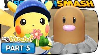 Pokemon Let's Go Pikachu & Eevee - Part 5: DIGLETT'S CAVE! (100% Walkthrough)