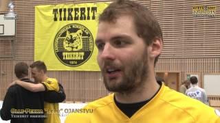 """Aftergame Tiikerit - Leka Volley Su 22.2.2015 Olli-Pekka """"Lelu"""" Ojansivu"""