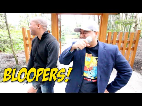 BLOOPERS!: GHETTO NEWS ANCHOR 2!