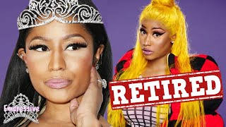 Nicki Minaj says she's done with rap music! Is she really retiring...or trolling?