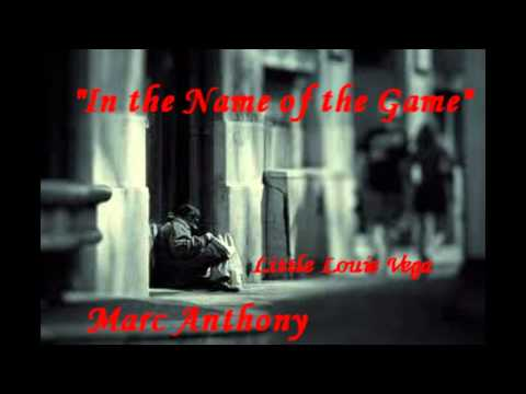 Marc Anthony - Name Of The Game