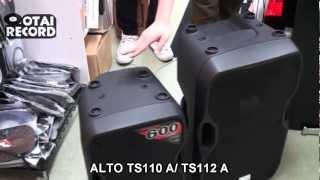 小さいけど強力なスピーカー、ALTO TS110 AとTS112 Aを徹底比較!!