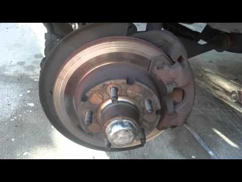 1993 ford explorer brake pad replacement part 1