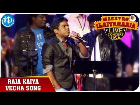 Maestro Ilaiyaraaja Live Concert - Raja Kaiya Vecha Song - Yuvan Shankar Raja