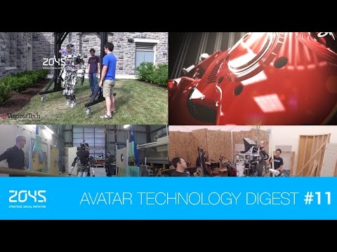#11 Avatar Technology Digest / Robotic cheetah project / DARPA Robotic Challenge / Origami robot