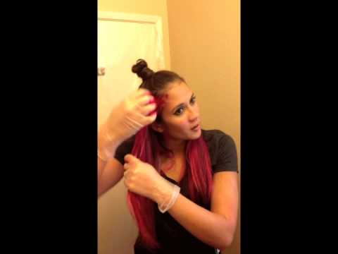 How to Dye Your Hair Pink at Home - Cat Myklebust