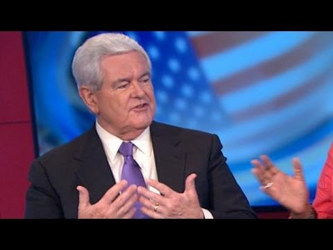 Newt Gingrich: 'Hysteria' on Left on Hobby Lobby 'Unbelievable'