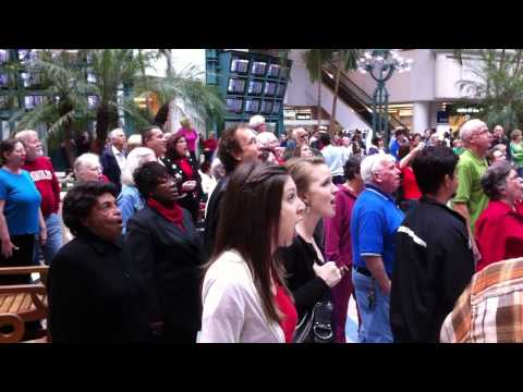Orlando International Airport Hallelujah Chorus Christmas Flash Mob