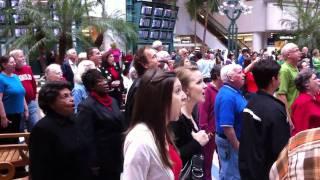 Orlando International Airport Hallelujah Chorus Christmas Flash Mob