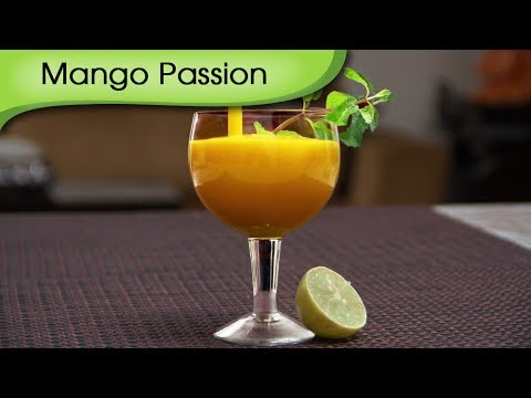 Mango Passion - Easy To Make Cool And Refreshing Mango Fruit Drink