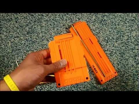 Nerf clips: Reversible stefan modification