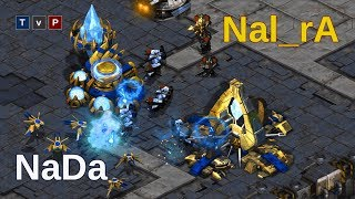 NaDa (T) vs Nal_Ra (P) - The Siege of a Genius! - Starcraft remastered