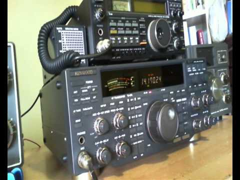 Kenwood TS 870 ALC issues on SSB.wmv